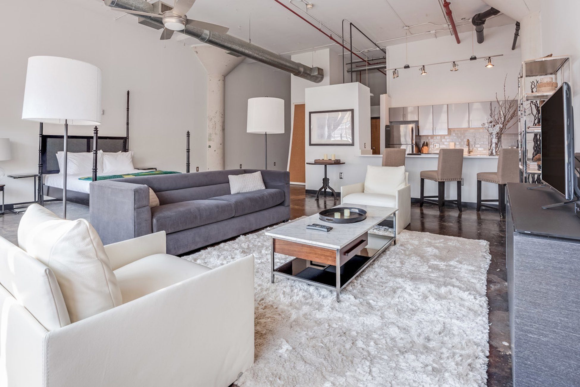 Loft Apartments In Midtown Atlanta | Telephone Factory Lofts